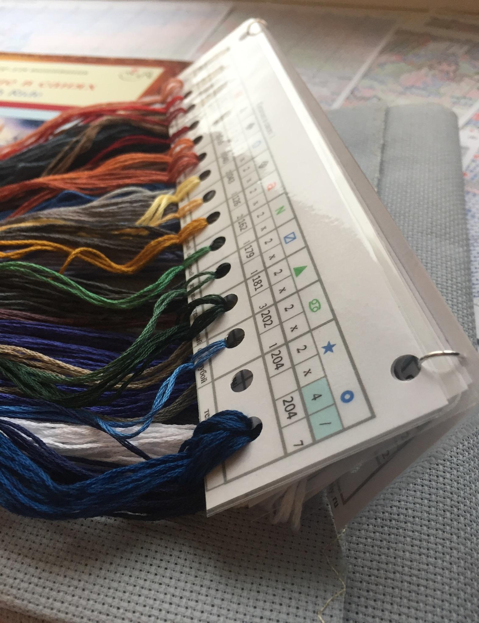 Набор для вышивания. Катание в санях. Sleigh Ride. Арт. 8689