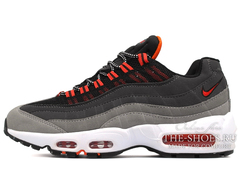 Кроссовки Мужские Nike Air Max 95 Double Grey Red White