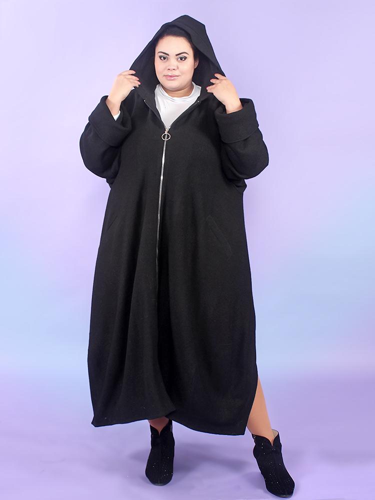 Утепленное пальто из варёной шерсти Бродвей
