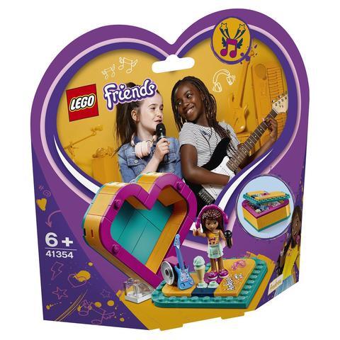 LEGO Friends: Шкатулка-сердечко Андреа 41354 — Andrea's Heart Box — Лего Френдз Друзья Подружки