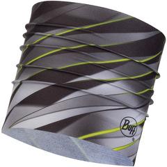 Широкая спортивная повязка Buff Focus Grey
