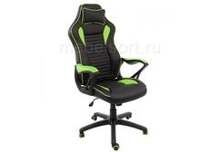 Компьютерное кресло Леон (Leon) черное / зеленое