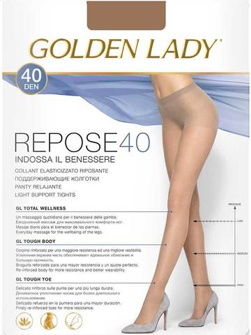 Колготки Repose 40 Golden Lady