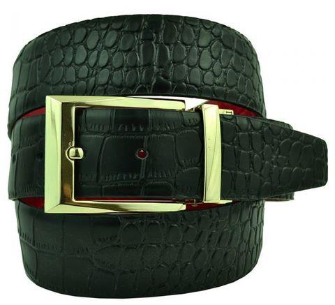 Ремень двусторонний джинсовый кожаный 40 мм Zilli (копия) 40Zilli-sale-010