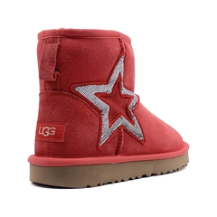 UGG Classic Mini Sequins Red