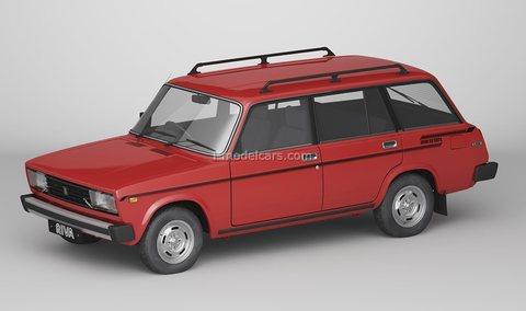 Lada Riva 1500 Estate VAZ-2104 AutoExport 1:43 DeAgostini Auto Legends USSR #276