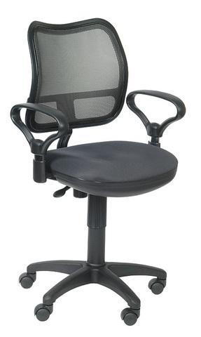 спинка сетка темно-серый сиденье серый TW-12