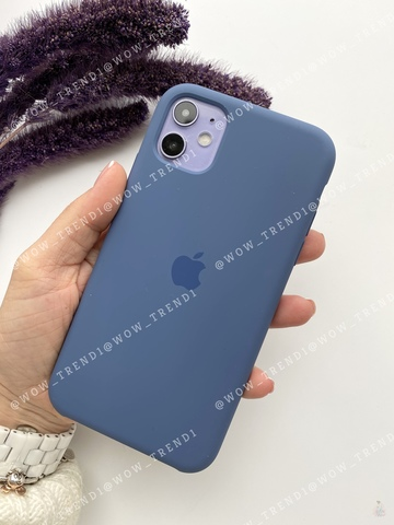 Чехол iPhone 11 Silicone Case /alaskan blue/ морской лёд original quality