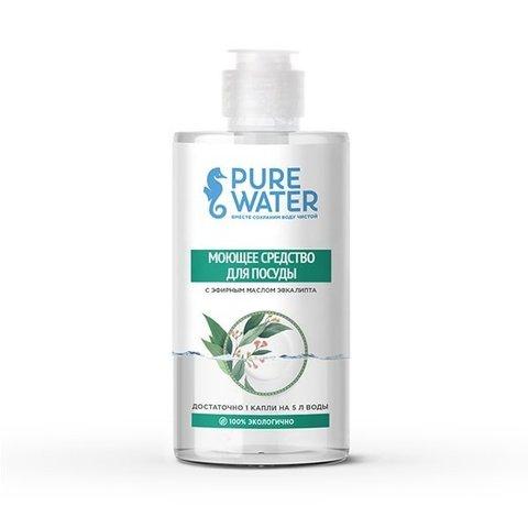 Средство для посуды с эфирным маслом эвкалипта | Pure Water