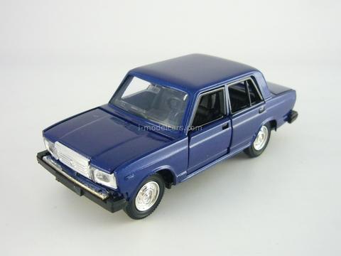 VAZ-2107 Lada dark blue 1:43 Agat Mossar Tantal