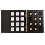 Черный Альбом MATRIX в слипкейсе, включая 5 листов панелей и набор наклеек
