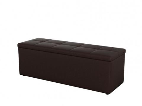 Пуф Orma Soft 2 двухместный Экокожа: коричневый