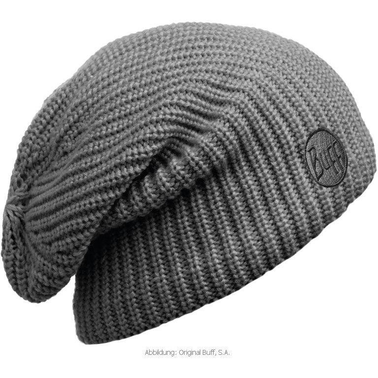 Вязаная шапка-чулок Buff Drip Graphite