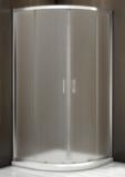 Душевой уголок BAS Latte R-80-G-WE 80x80 матовое