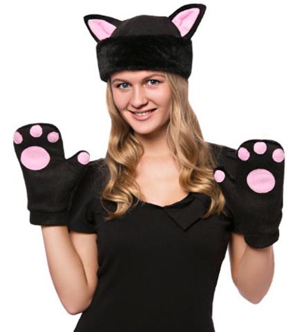костюм Черная Кошка мини