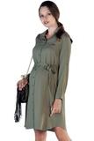 Платье 09832 хаки