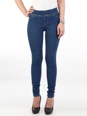 6807 джинсы женские, синие