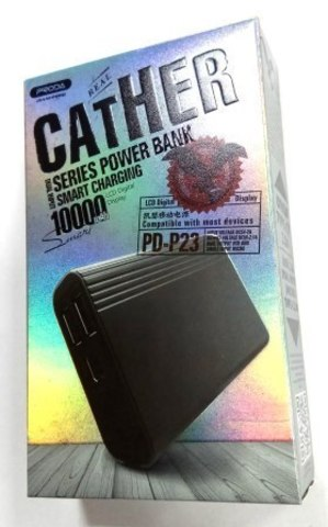 Внешний аккумулятор REMAX Proda Cather series 10000mAh PD-P23