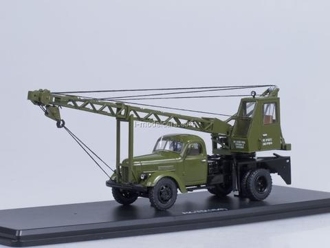 ZIL-164 Truck Crane AK-75 khaki Start Scale Models (SSM) 1:43