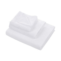 Набор полотенец 3 шт Roberto Cavalli Zebrona белый