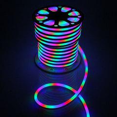 Гибкий неон 15*25 мм, светодиодный | Мультицветный - 25м