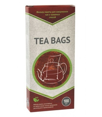 Фильтры-пакеты для чая на чайник (100 шт.)