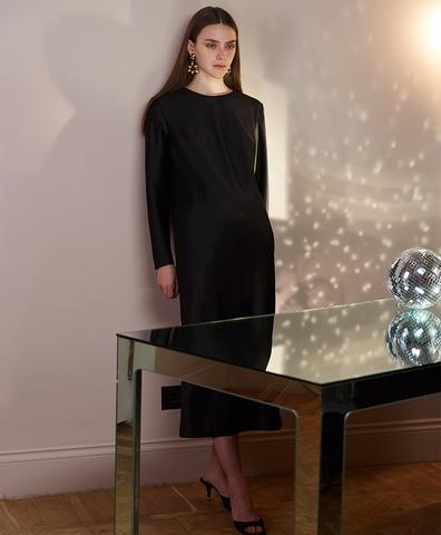 Платье Марта черное