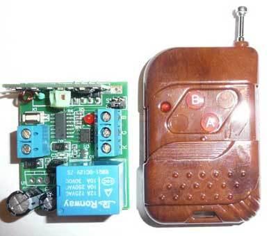 Выключатель дистанционный на радио частоте RC-1-12-SR-L-KP2