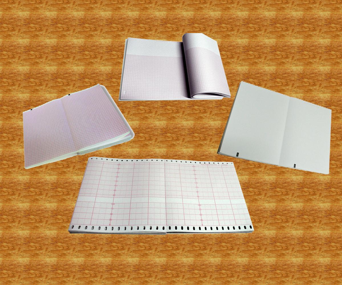 210х300х200, бумага ЭКГ для  HP-M2483A