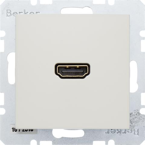 Розетка HDMI. Цвет Бежевый. Berker (Беркер). S.1. 3315428982