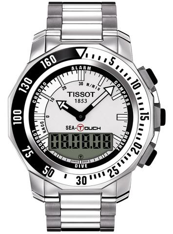 Купить Мужские швейцарские часы Tissot T-Touch Sea-Touch T026.420.11.031.00 по доступной цене