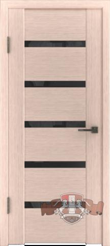 Дверь 17ДО5 (беленый дуб, остекленная шпонированная), фабрика Владимирская фабрика дверей