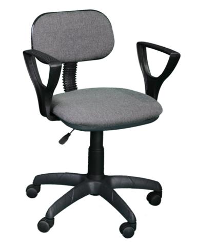 Кресло ЛИГА 2 газлифт ткань серая