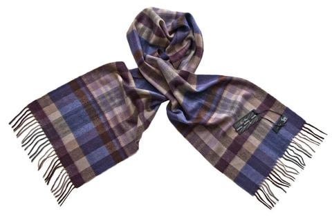 Кашемировый шарф, мужской 70110 SH4
