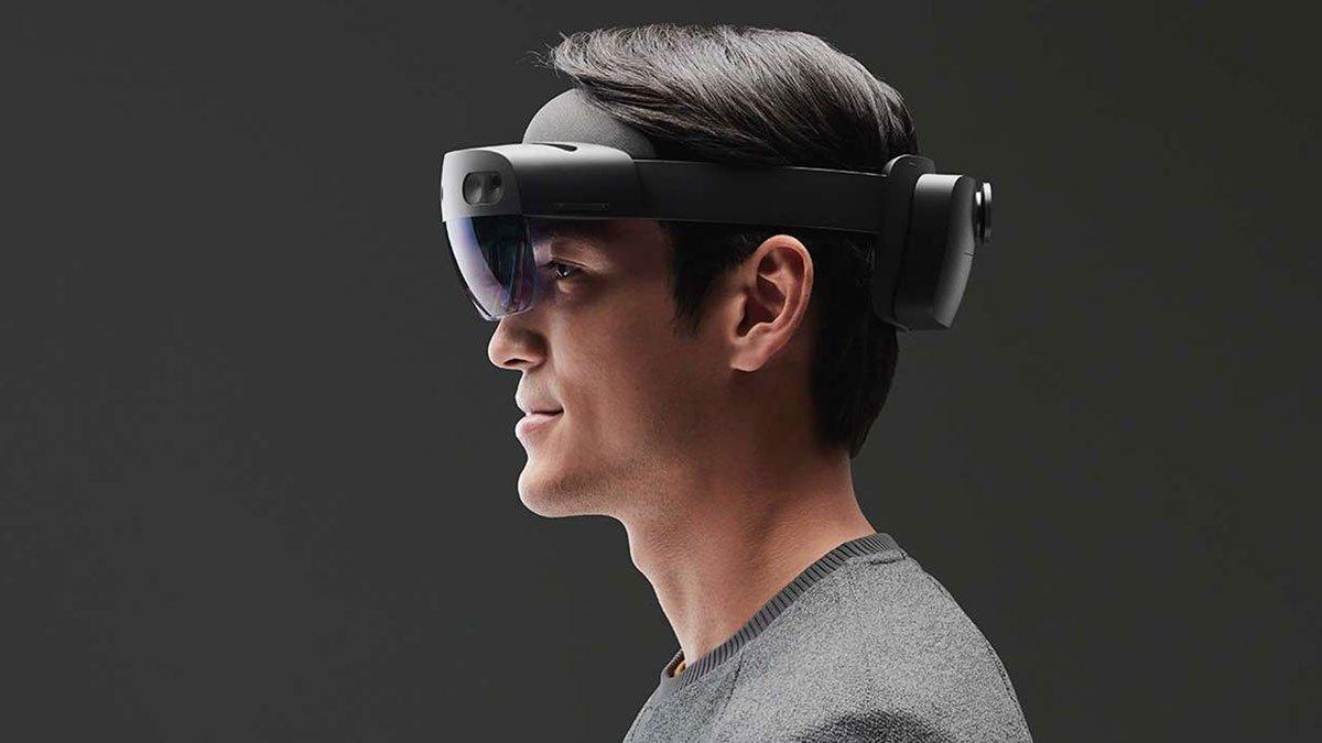 Очки смешанной реальности Microsoft Hololens 2