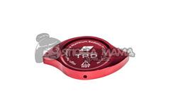 Накладка на крышку радиатора TRD красная