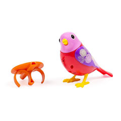 DigiBirds - Bird Red and Pink