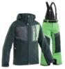 8848 ALTITUDE NEW LAND SCRAMBLER детский горнолыжный костюм темно-зеленый