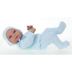 JUAN ANTONIO munecas Кукла Лало в голубом, 42 см (5075B)