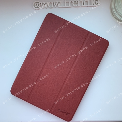 Чехол iPad PRO 12,9 (2018) Mutural Smart Case /red/