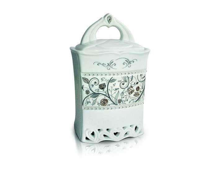 Чай Японская липа листовой Teabreeze Керамическая чайница, 100 г (Тибриз)