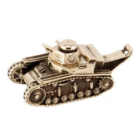 Танк Т-18 МС-1 отечественного производства из бронзы RH00952