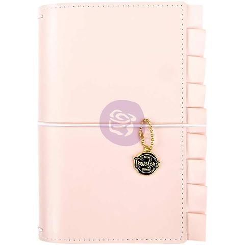 Блокнот-Prima Traveler's Journal Personal Size -Sophie- 12,5 х19 см. Эко-кожа.