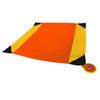 Картинка пляжное покрывало Ticket to the Moon Beach Blanket Orange/Dark Yellow