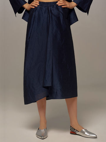 Dark blue female skirt by Olmar GentryPortofino - фото 2