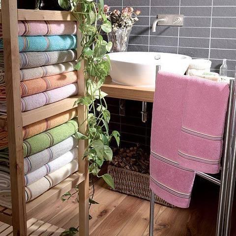 Набор полотенец 2 шт Vingi Ricami Multicolor серый