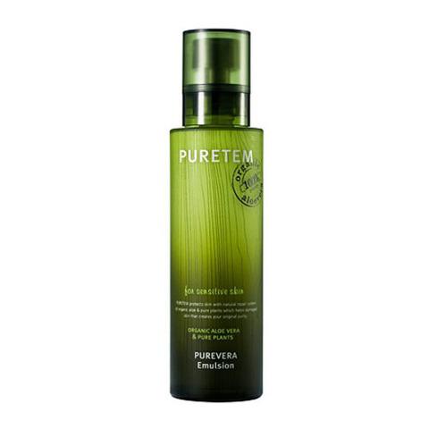 WELCOS Puretem Эмульсия для лица с экстрактом алоэ вера Puretem Purevera Emulsion