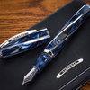 Перьевая ручка Visconti Divina Elegance Over синий перо M палладий 23 кт (VS-263-18M) перьевая ручка visconti salvador dali темно синий перо m vs 664 18m