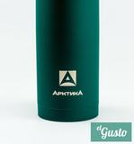 Термос «Арктика» с узким горлом, зеленый 1литр