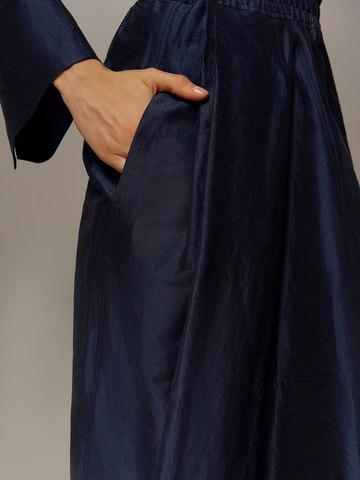 Dark blue female skirt by Olmar GentryPortofino - фото 4